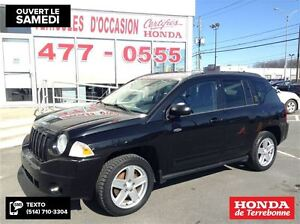 2010 Jeep Compass North 4X4 Manuel Noir