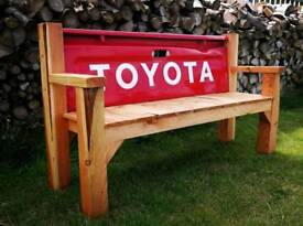 Toyota Hilux tailgate bench