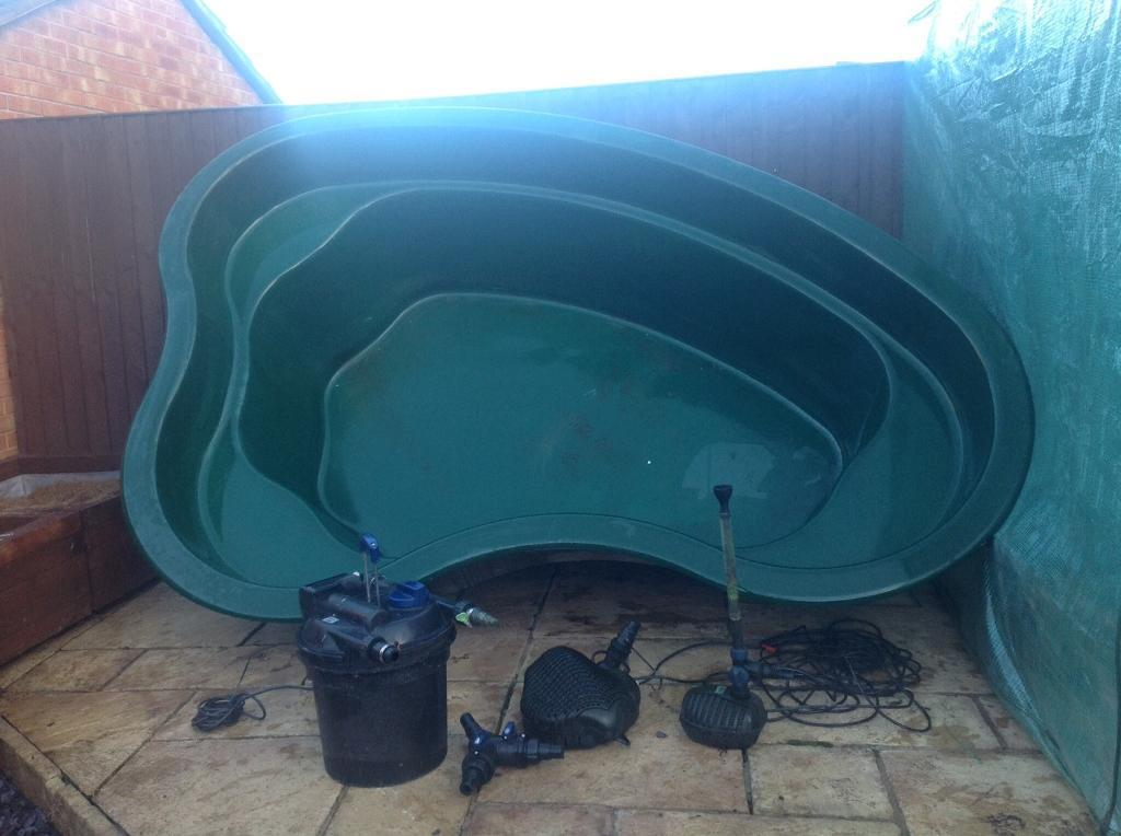 Fibre glass pond buy sale and trade ads find the right for Atlantis koi pond
