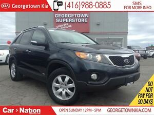 2013 Kia Sorento LX V6 7 SEATER| AWD| BLUE TOOTH| TOW PACKAGE