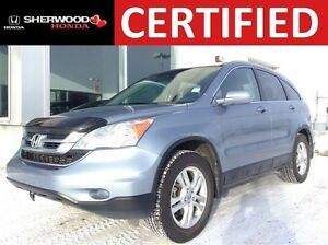 2011 Honda CR-V EX-L 4WD | HEATED LEATHER | AUX/USB | SUNROOF