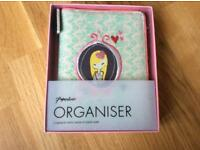 Paperchase organiser with week to week diary 2018 new