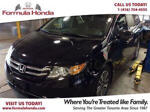 2014 Honda Odyssey Touring- Top of the line, featuring all the o