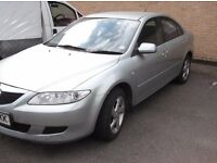 Here I have for sale my 2.0l, manual mazda6 diesel. The car drives without fault and looks great