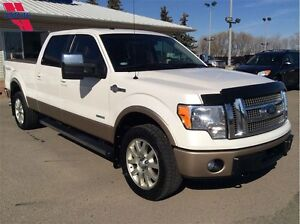 2012 Ford F-150 S/CREW 4X4 King Ranch Ecoboost 70250KM
