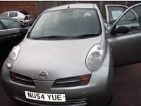 ******12400cc '54 Reg Manual Silver Nissan Micra For Sale******