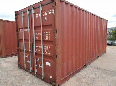 20ft Shipping Storage Container Cargo-worthy For Sale In Newark Nj