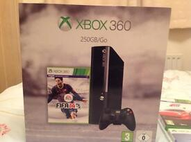 Xbox 360 with 9 games (pictured) 2 x controllers and connect