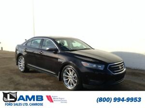 2013 Ford Taurus Limited AWD with Navigation, Power Moonroof and