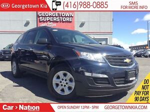 2016 Chevrolet Traverse LS | ALL WHEEL DRIVE | BACK UP CAM | 8 P