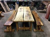 Brand new Live edge outdoor table