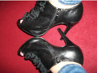Well worn, scented specially heels shoes etc