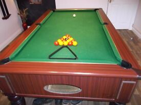 Pool Table with cover for sale. Full size Excellent Condition