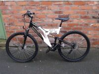 mans full suspension mountain bike