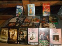 30+ VHS Video Films various titles Free to good home