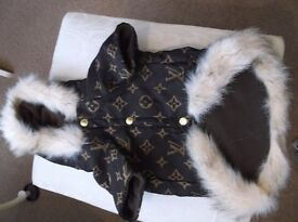 LOUIS VUITTON SMALL DOG COAT