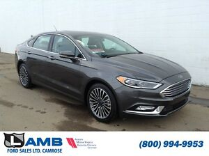 2017 Ford Fusion SE AWD 2.0 Ecoboost Leather Navigation Moonroof