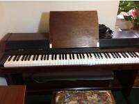 Roland 4500S digital piano, black, touch sensitive keys, 6+ voices