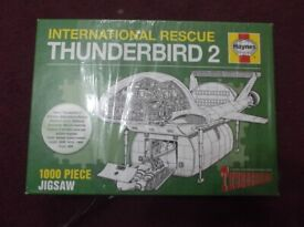 HAYNES INTERNATIONAL RESCUE THUNDERBIRD 2 1000 PIECE JIGSAW