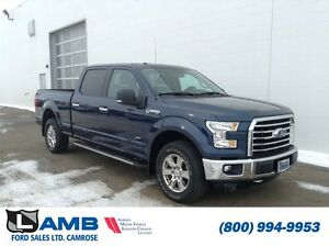 2015 Ford F-150 SuperCrew XLT 301A 3.5L Ecoboost Max Trailer Tow