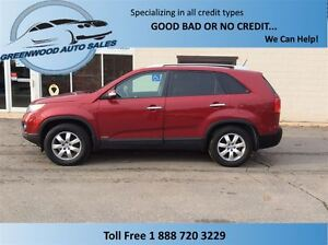 2012 Kia Sorento SORENTO, AWD, AUTO, POWER OPTIONS.