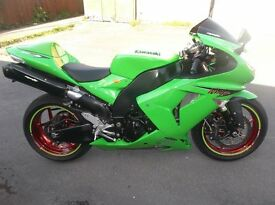 KAWASAKI ZX10R D7F 2006,ONLY 4550 MILES,BEST AVAILABLE,A ONE OFF