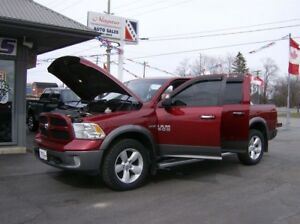 2013 Dodge Ram 1500 CREW CAB *OUTDOORSMAN PACKAGE* 4X4