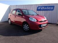 Nissan Micra Visia 1.2 5dr (red) 2012