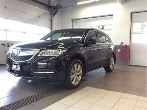2015 Acura MDX Elite AWD - Top of the line!