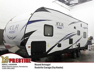 2017 Forest River XLR Boost 27QB Cargo Garage / Toy Hauler