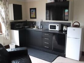 Ground floor Annex/Bedsit available single working person bills included available end August.