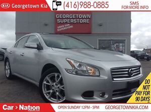 2014 Nissan Maxima SV NAVI LEATHER ROOF BACK UP CAM  ALLOY WHEEL