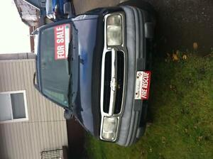 Chevy tracker 4 sale