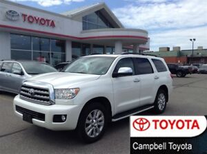 2015 Toyota Sequoia PLATINUM EDITION-ALL THE TOYS--DVD--NAV--ROO