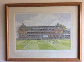 Cricket at Lords by Keith Reilly