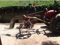 Tractor Haybob hayturner