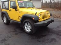2009 Jeep Wrangler $169.00 BI WEEKLY O.A.C. 3.8 L V6 WITH A 6 SP