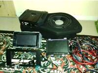JBL sound system bassbox sub n amp and DAB came out of a3 S3