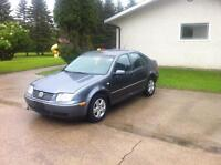 2005 VW JETTA  4 door TURBO DIESEL