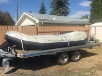 16 ft Zebec River Raft for Sale