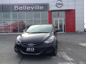 2013 Hyundai Elantra GL. 1 OWNER LOCAL TRADE