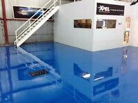Epoxy floors- Concerte repairs Cément- finishes
