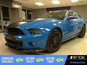 2014 Ford Mustang Shelby GT500 ** Glass Roof, Grabber Blue **