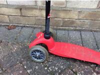 Mini Micro Scooter - red