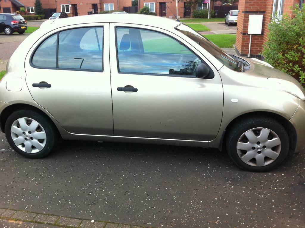 Nissan Micra Diesel 06 Plate Faulty Quick Sale In