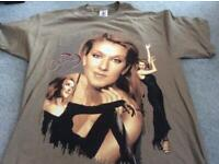 New never worn Celion World Tour 99 smoke free home Size L Nice quality T shirt