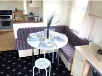 luxury starter static caravan for sale on lyons robin hood holiday park north wales prestatyn