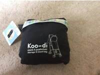 Koo di pack it pushchair storage and travel bag ( unused) ideal for travelling