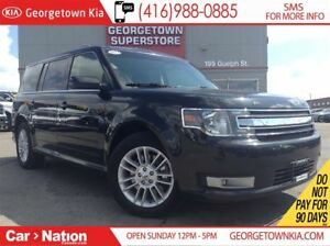 2013 Ford Flex SEL | 7 PASS | ALL WHEEL DRIVE | HEATED SEATS