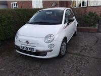 Fiat, 500, Hatchback, 2009, Manual, 1242 (cc), 3 doors